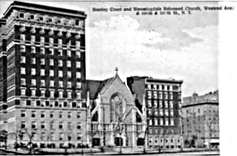 Bloomingdale Reformed Church - New York City (1905 Postcard)