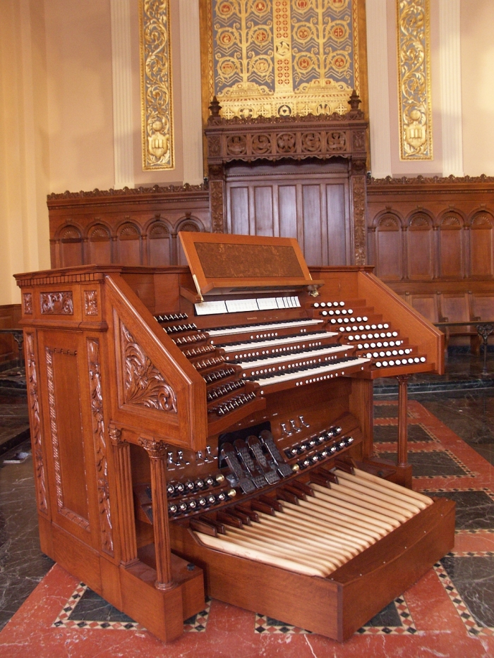 Casavant Frères Organ, Op. 3837 (2005) - Brick Presbyterian Church - New York City (Photo: Keith S. Toth)
