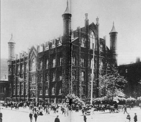 Free Academy of New York (1900, CCNY Archives)
