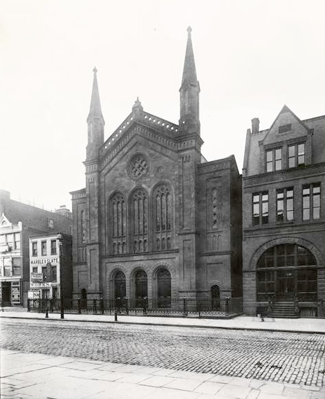 Central Baptist Church (c.1890) - New York City