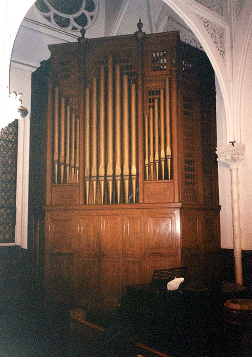 M.P. Möller organ, Oop. 6763 (1939) in Church of the Covenant (Presbyterian) - New York City