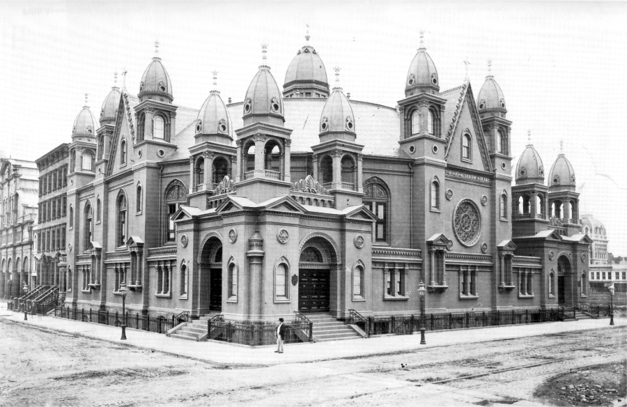 Church of the Disciples, ca. 1875 - New York City
