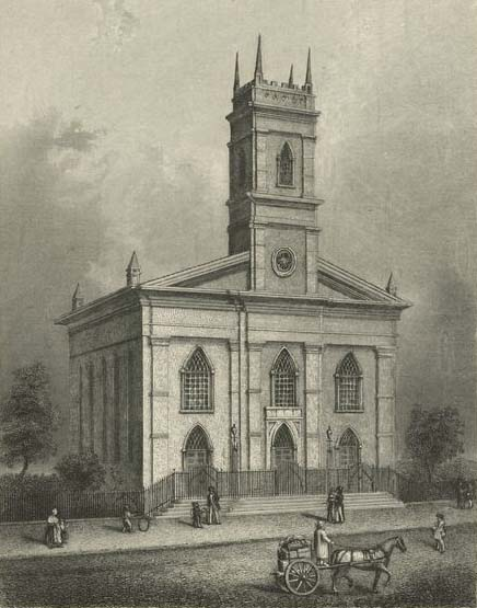 Christ Church (Episcopal) on Anthony Street - New York City
