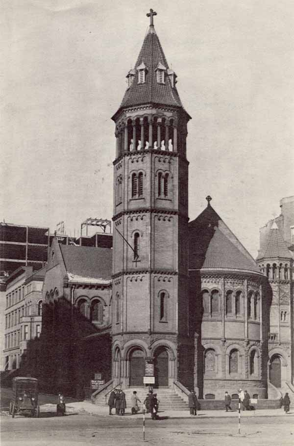 Christ Church (Protestant Episcopal) on Broadway at 71st Street - New York City