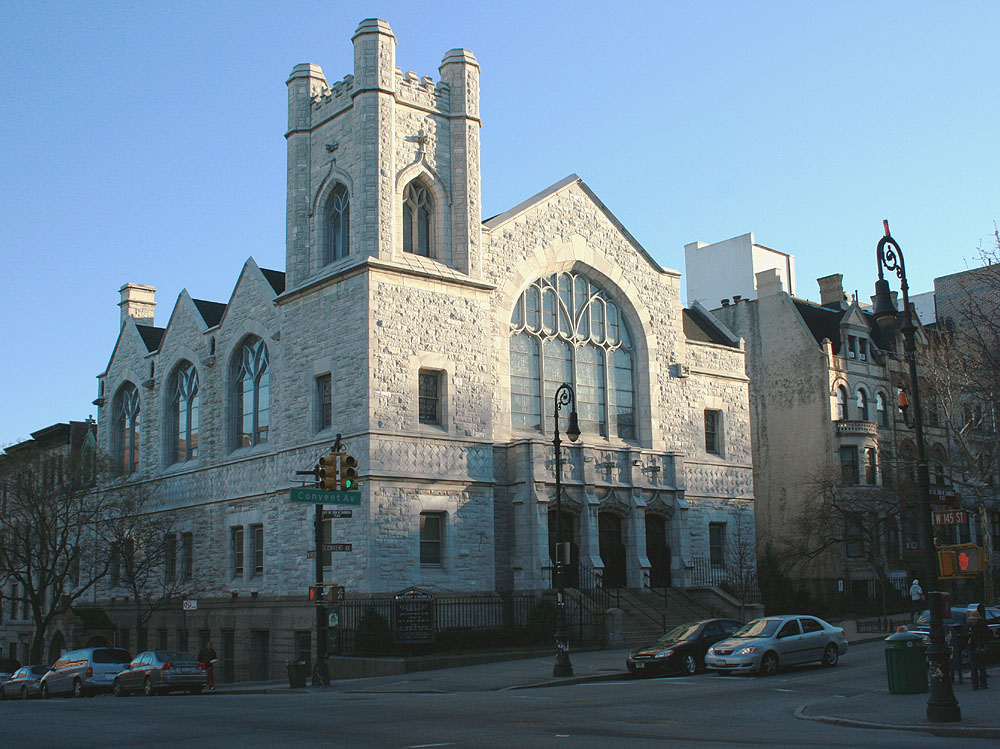 Convent Avenue Baptist Church - New York City (photo: Steven E. Lawson)