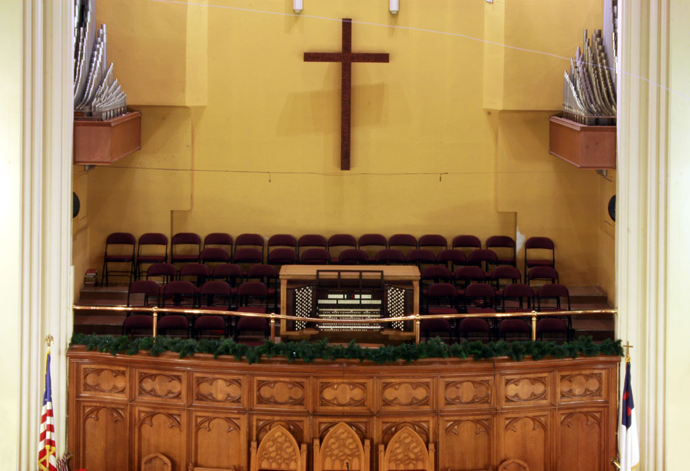 Southfield Organ at Convent Avenue Baptist Church - New York City (photo: Steven E. Lawson)
