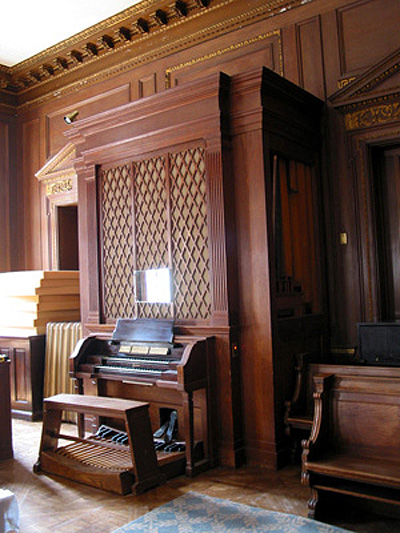 Casavant Organ, Op. 1582 (1938) originally in the Convent of the Sacred Heart School - New York City (photo: The Organ Clearing House, courtesy John Bishop)