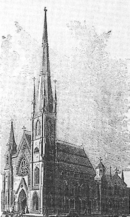 First Baptist Church on Park Avenue & 39th Street (1871-90) - New York City
