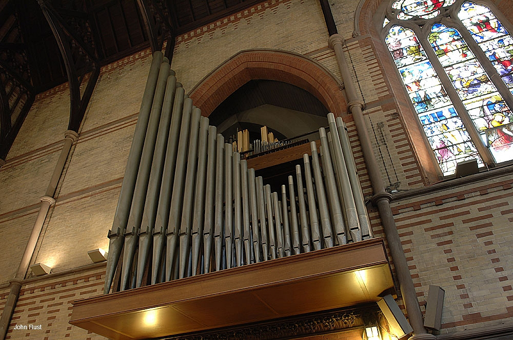 Holtkamp Organ (1958/1996) at Chapel of the Good Shepherd, General Theological Seminary - New York City (photo: John Rust)