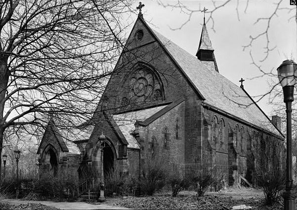 Episcopal Chapel of the Good Shepherd - Blackwell's Island, New York City (Library of Congress)