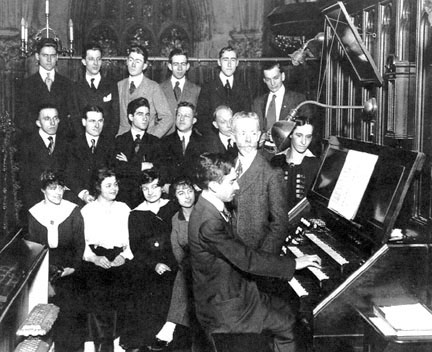 Dr. William C. Carl and the Guilmant Organ School - New York City