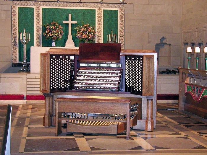Organ Console - Church of the Heavenly Rest, NYC