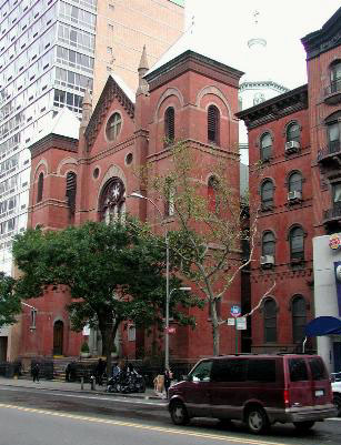 Church of the Holy Cross - New York City