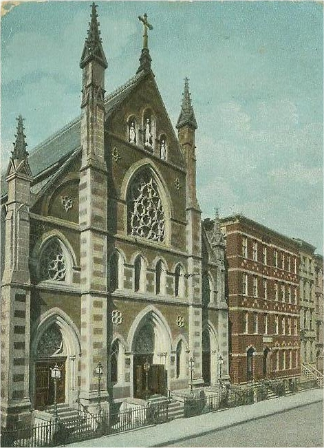 Church of the Holy Innocents - New York City (Postcard, c.1905)