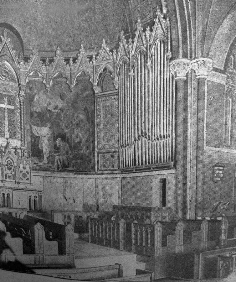 Farrand & Votey organ, Op. 811 (1896) in P.E. Church of the Incarnation - New York City