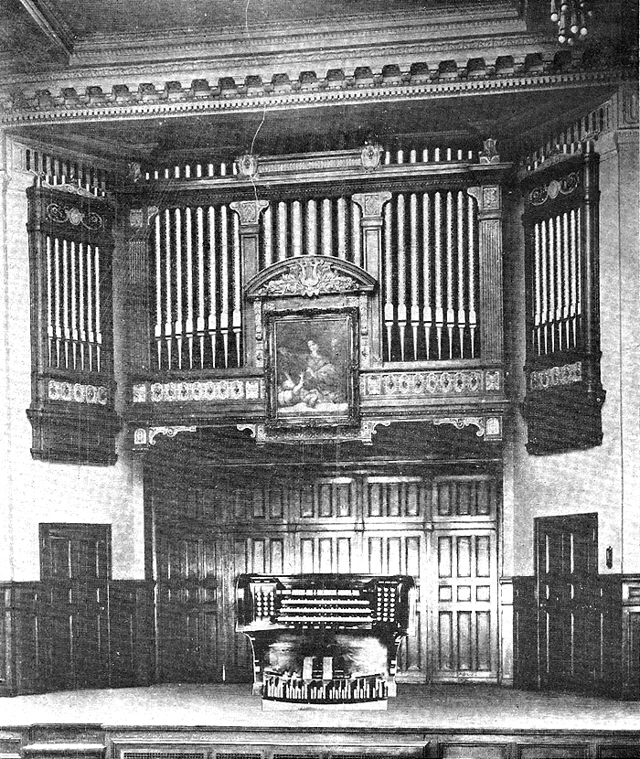Hillgreen, Lane & Co. Organ, Op. 781 (1924) in the Recital Hall of the Institute of Musical Art - New York City