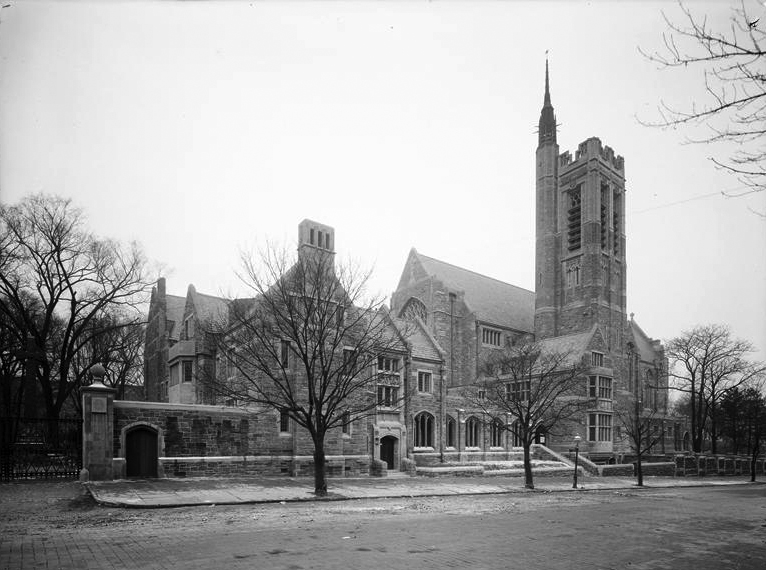 Church of the Intercession - New York City (Wurts Bros., c.1915)