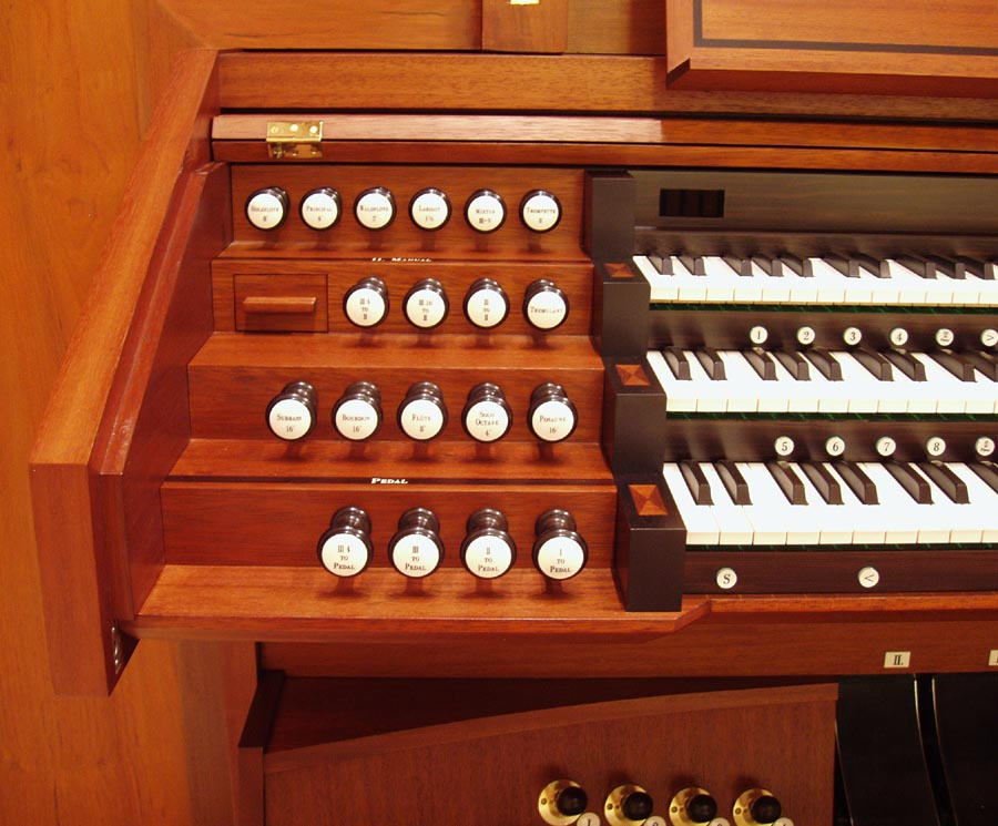 Johannes Klais Organ, Op. 1851 (2007) in the Interchurch Center - New York City (photo: Steven E. Lawson)