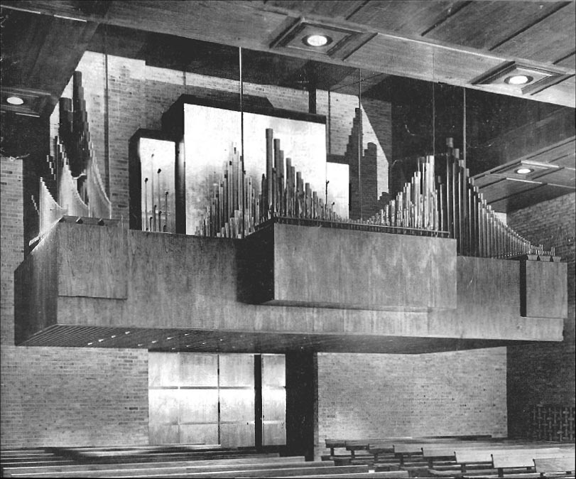 M.P. Möller Organ, Op. 9370 (1960) in the Chapel of the Interchurch Center - New York City