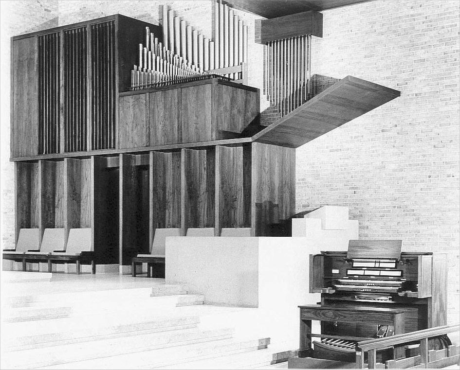 M.P. Möller Organ, Op. 9780 (1960) in the Chapel of the Interchurch Center - New York City