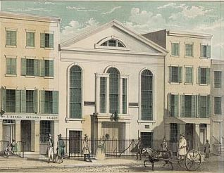 1818 building for John Street Methodist Church - New York City
