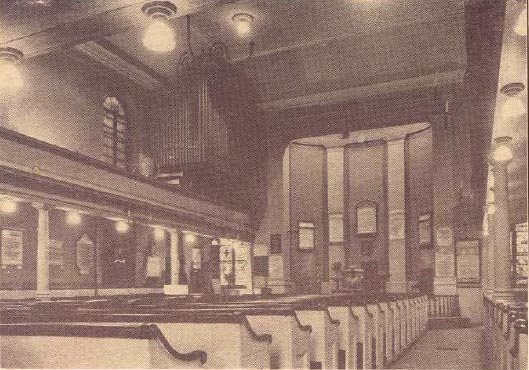 Reuben Midmer & Son organ in John Street Methodist Church - New York City