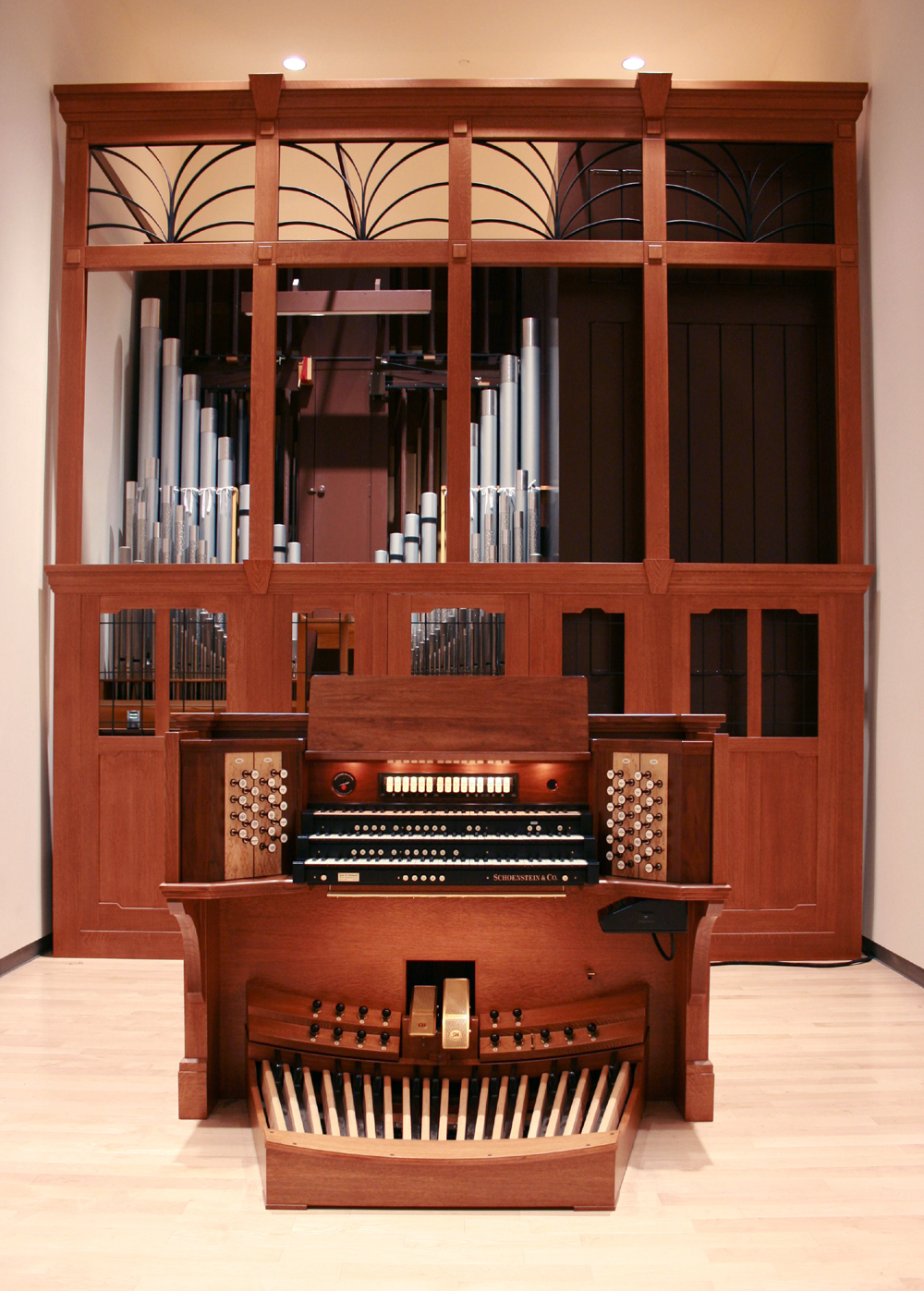 Schoenstein Organ, Op. 158 (2010) at The Juilliard School - New York City  (photo: Steven E. Lawson)