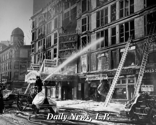 1931 Fire at Loew's Lincoln Square Theatre - New York City