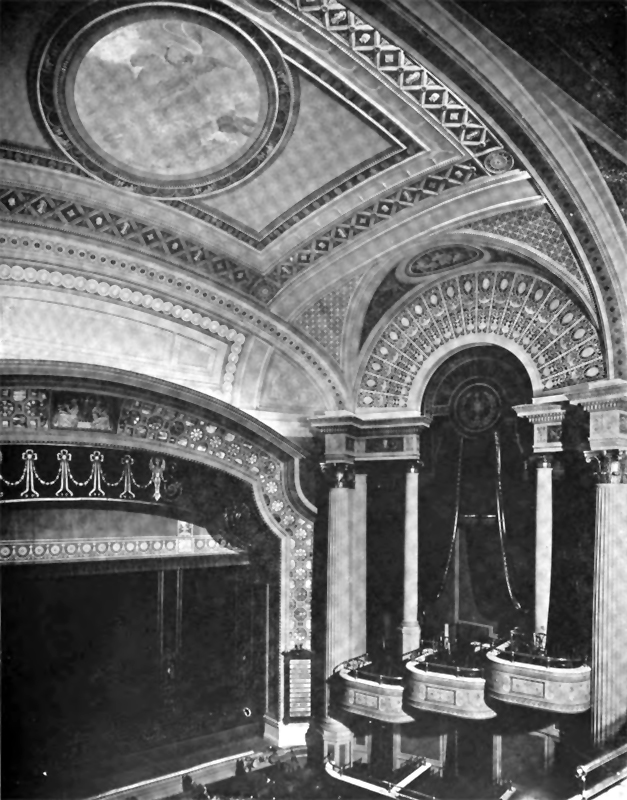 Loew's Victoria Theatre - New York City (Architecture and Building, 1918)