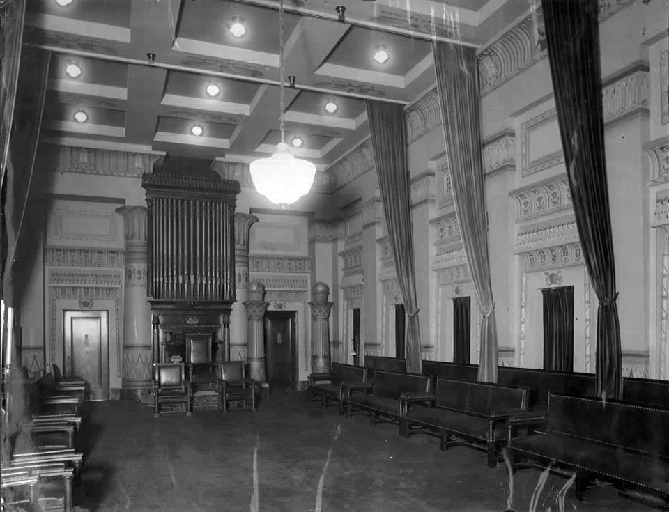 Austin Organ (1909) in the Egyptian Room of Masonic Temple - New York City