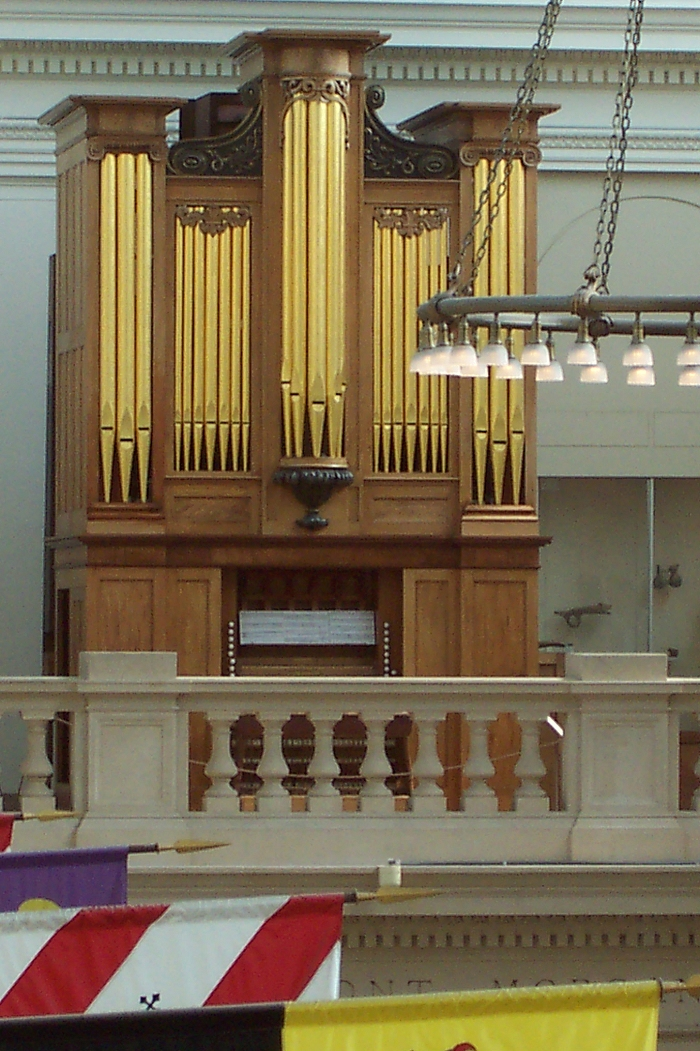 Thomas Appleton Organ (1830) at the Metropolitan Museum of Art - New York City (photo: Shane Murphy)