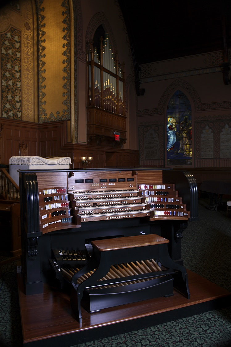 Marshall & Ogletree Organ, Op. 4 (2008) at Middle Collegiate Church - New York City (credit: Adrian Buckmaster)