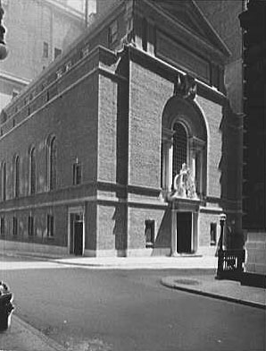 Our Lady of Victory Catholic Church - New York City (photo: Library of Congress)