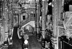 Grand Lobby of RKO 58th Street Theatre - New York City (photo: AJWB Collection)