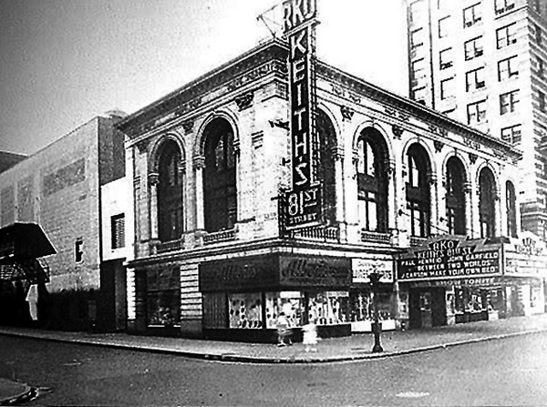 1944 photo of RKO 81st Street Theatre - New York City