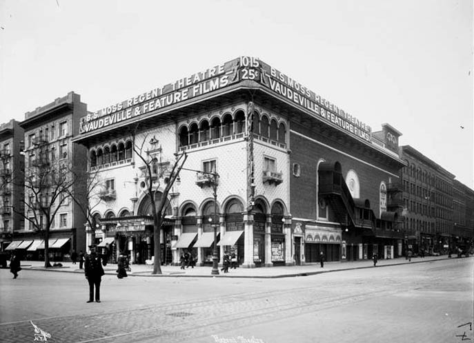 Regent Theatre - New York City (Byron Co., 1915, MCNY)