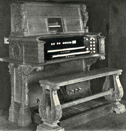 Austin Organ, Op. 81 (1903) in Col. William L. Barbour Residence - New York City (Music Trade Review)