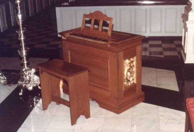 Taylor & Boody Organ - Op. 21 (1987) - Residence of Louise Basbas - New York City