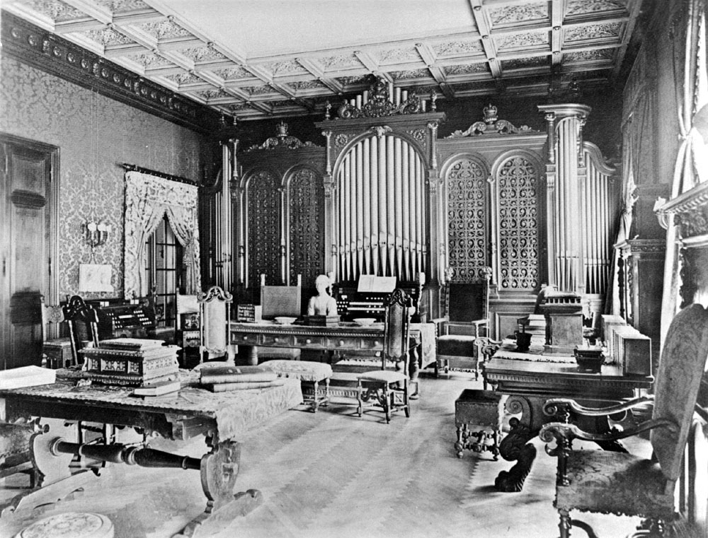 Aeolian Organ, Op. 871 (1899) in the Fabbri-Steele Mansion - New York City