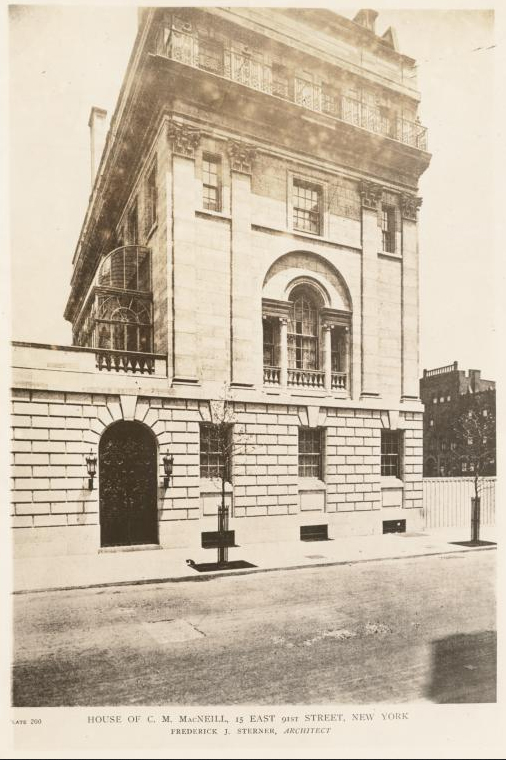 Charles M. MacNeill Residence - New York City