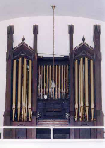 Organ Case in Katsbaan Reformed Church - Saugerties, NY