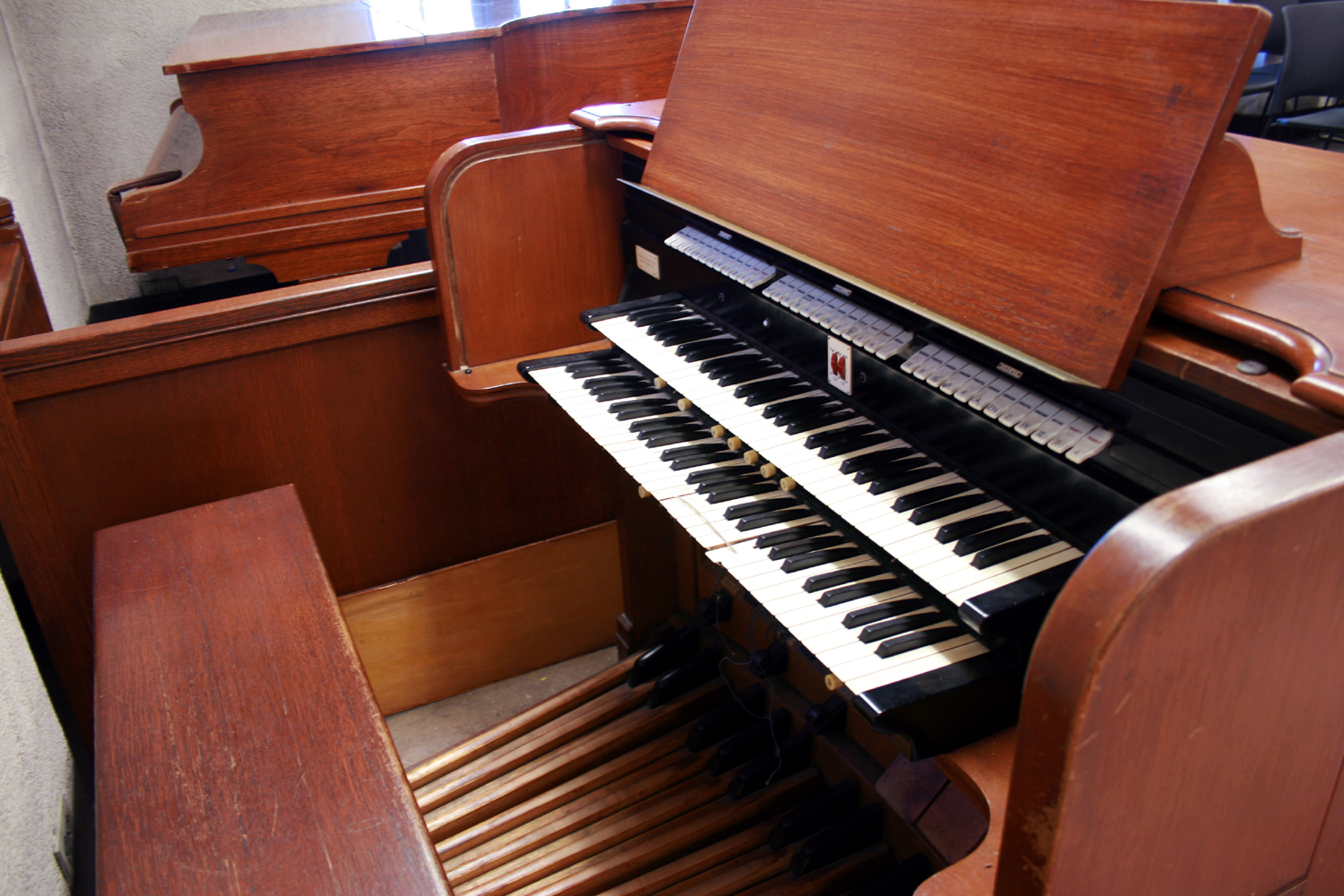 Austin Organ, Op. 2327 (1960) in the Chapel of the Cross in The Riverside Church - New York City (photo: Steven E. Lawson)