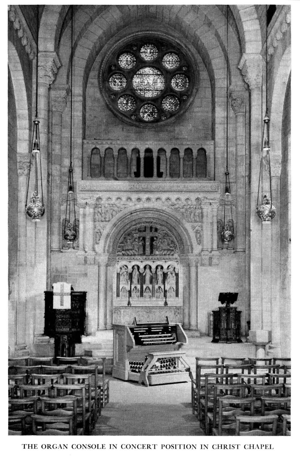 Austin Organ, Op. 2343 (1959-60) in Christ Chapel of the Riverside Church - New York City (photo: The Riverside Church Archive)