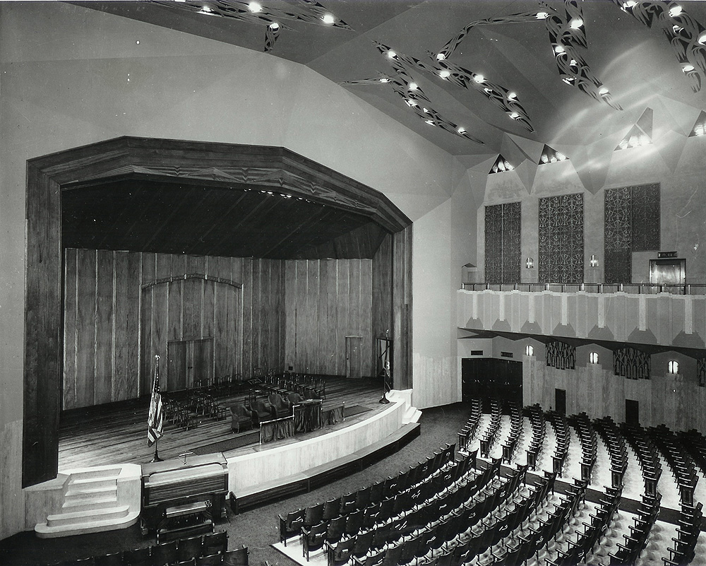 Centennial Memorial Temple in Salvation Army Headquarters - New York City (photo: The Salvation Army National Archives)