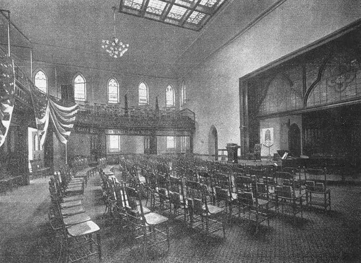 Church Hall of the Second Collegiate Reformed Church of Harlem - New York City