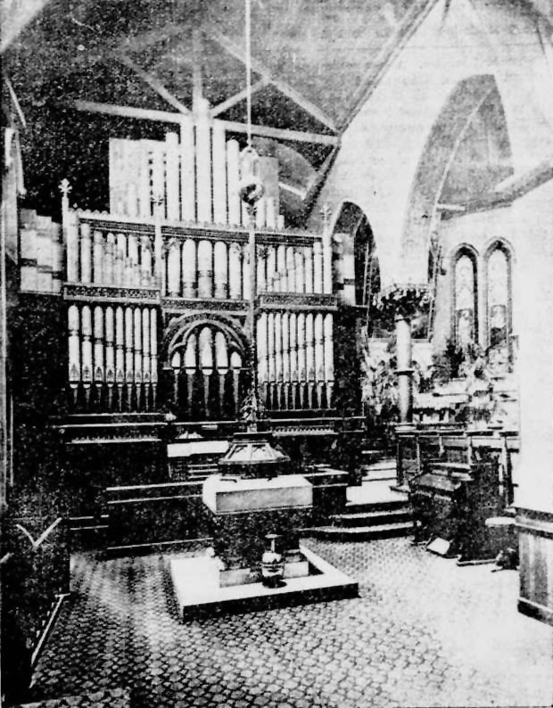 E. & G.G. Hook & Hastings Organ, Op. 660 (1872) in St. Andrew Episcopal Church - New York City (New-York Tribune)