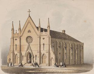 St. Ann's Church for the Deaf-Mutes (Episcopal) - New York City (c.1860, MCNY)