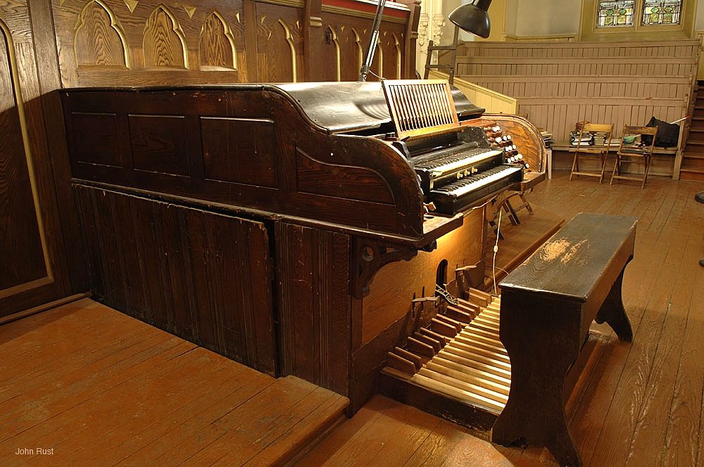 J.H. & C.S. Odell Organ, Op. 294 (1891) at Our Lady of Guadalupe at St. Bernard's - New York City (Photo: John Rust)