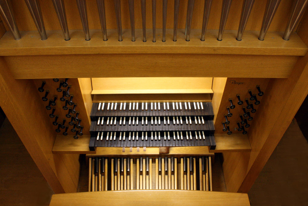 Rieger Organ (1974) in St. Hilda's and St. Hugh's School - New York City (photo: Steven E. Lawson)