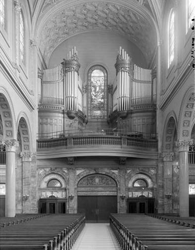Hook & Hastings organ, Op. 2326 (1913) in the Church of St. Ignatius Loyola - New York City